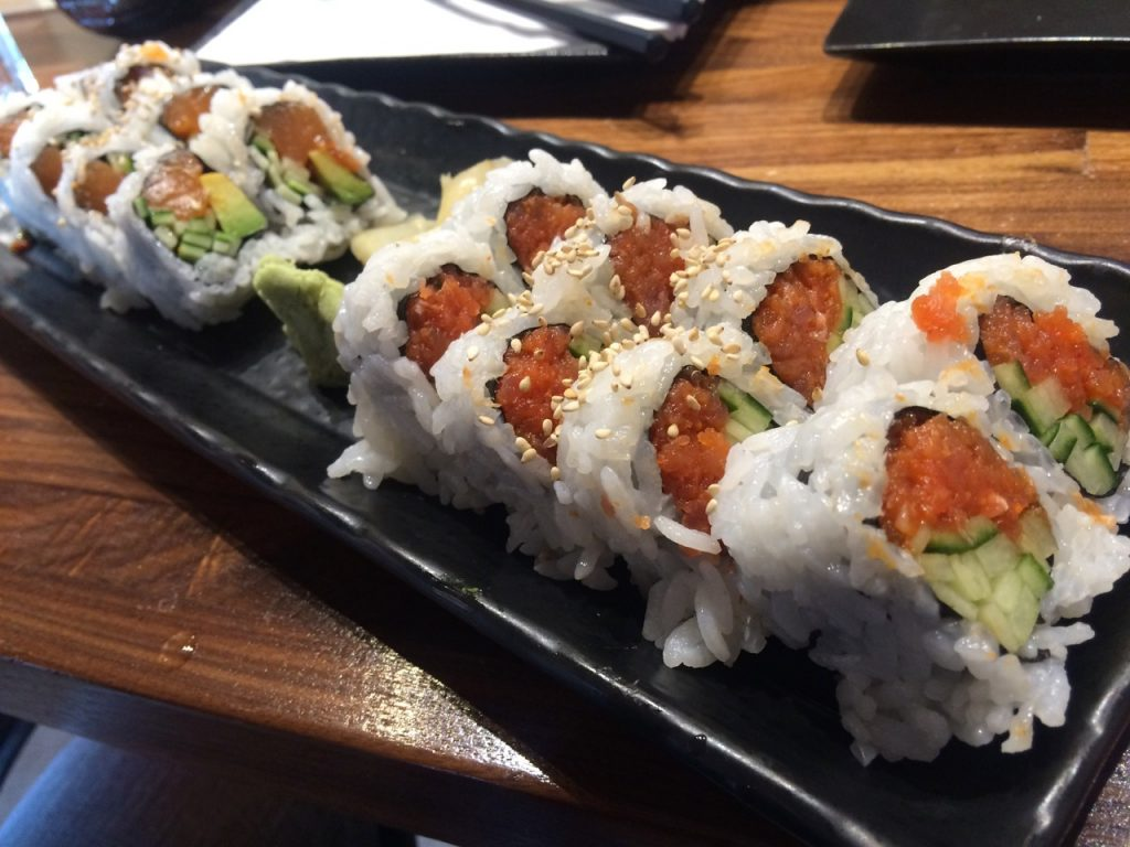 Great Sushi at Aki Sushi – August 5 2016
