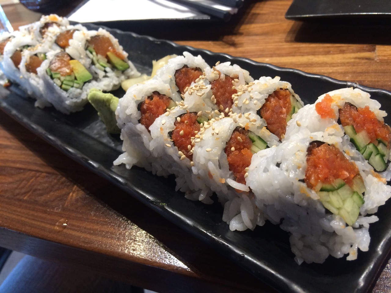 Great Sushi at Aki Sushi - August 5 2016