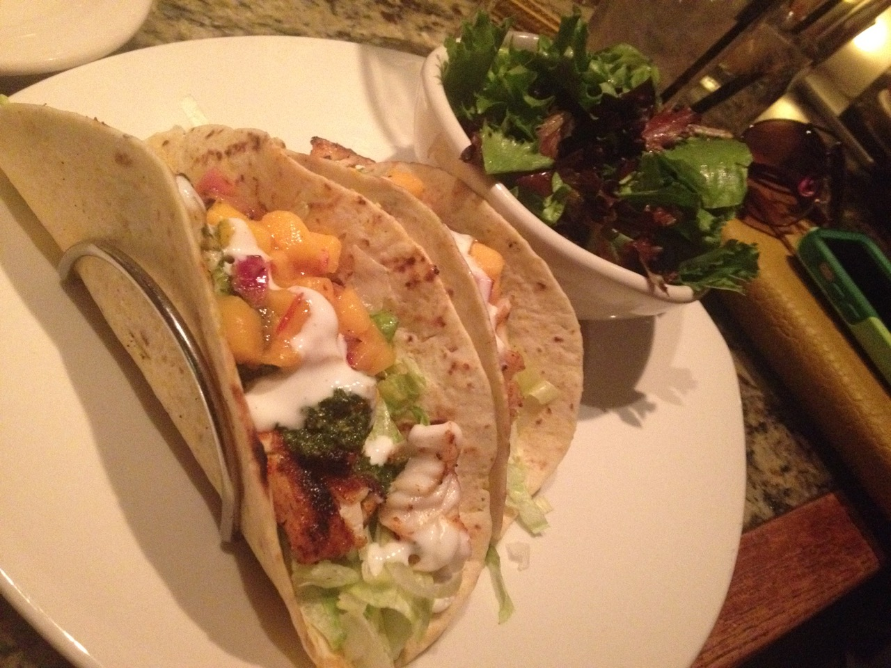 Fish Tacos at Bonefish – April 12 2014