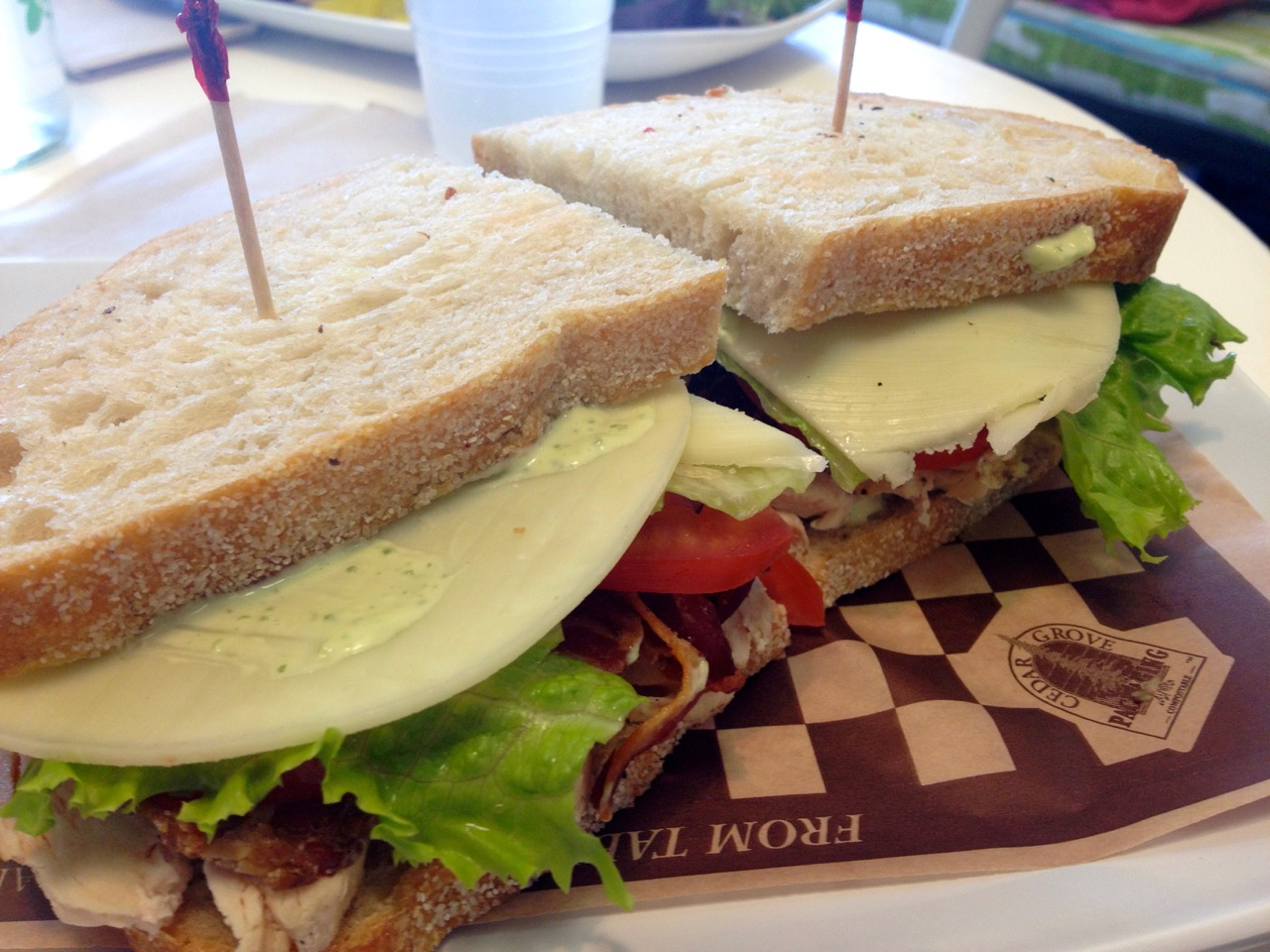 Flank Steak Sandwich at Graze – April 9 2014