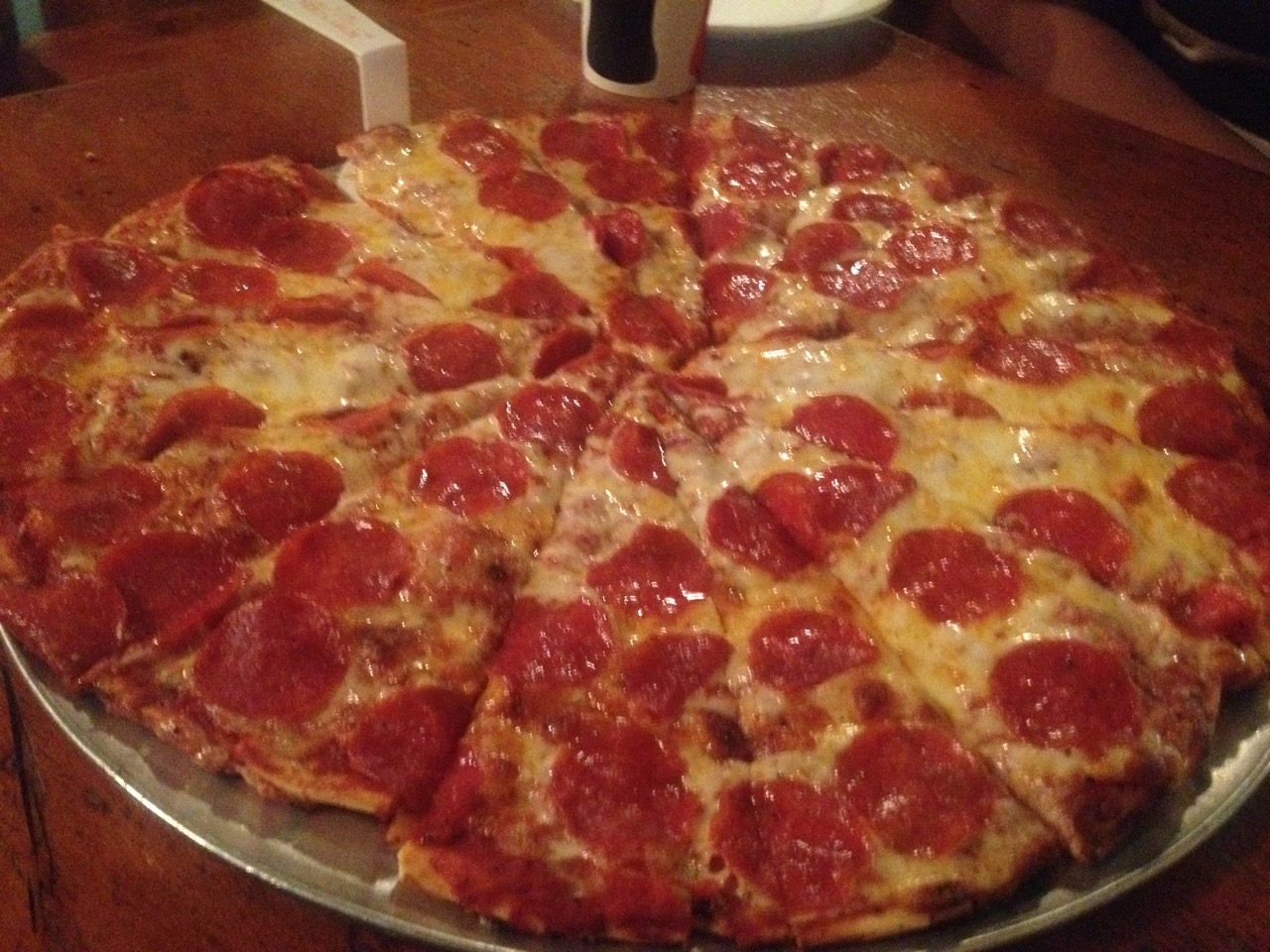 Pepperoni Pizza at Hubby's – January 23 2015