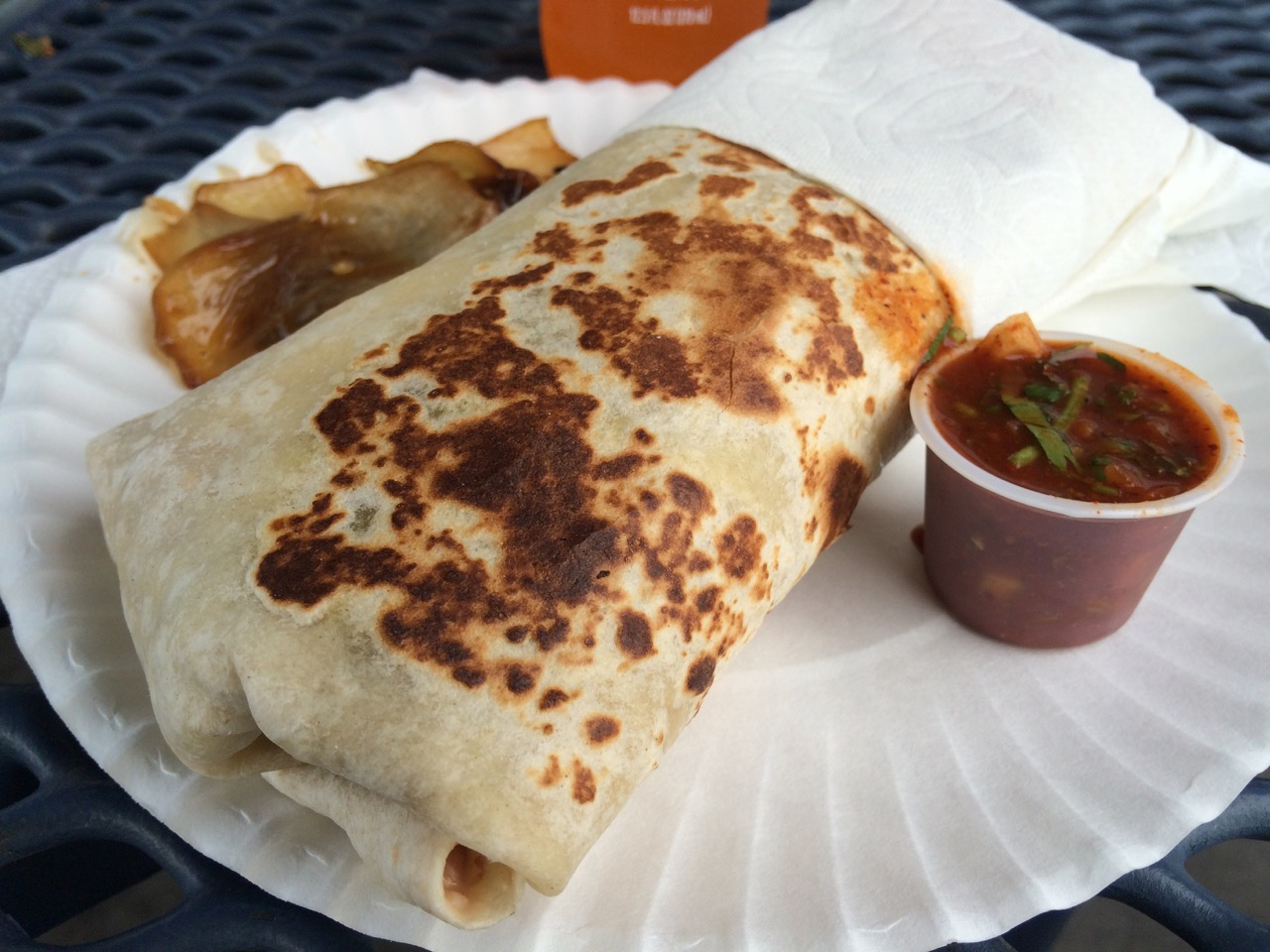 Carne Asada Burrito at Taqueria La Esperanza in Pasco – May 5 2016