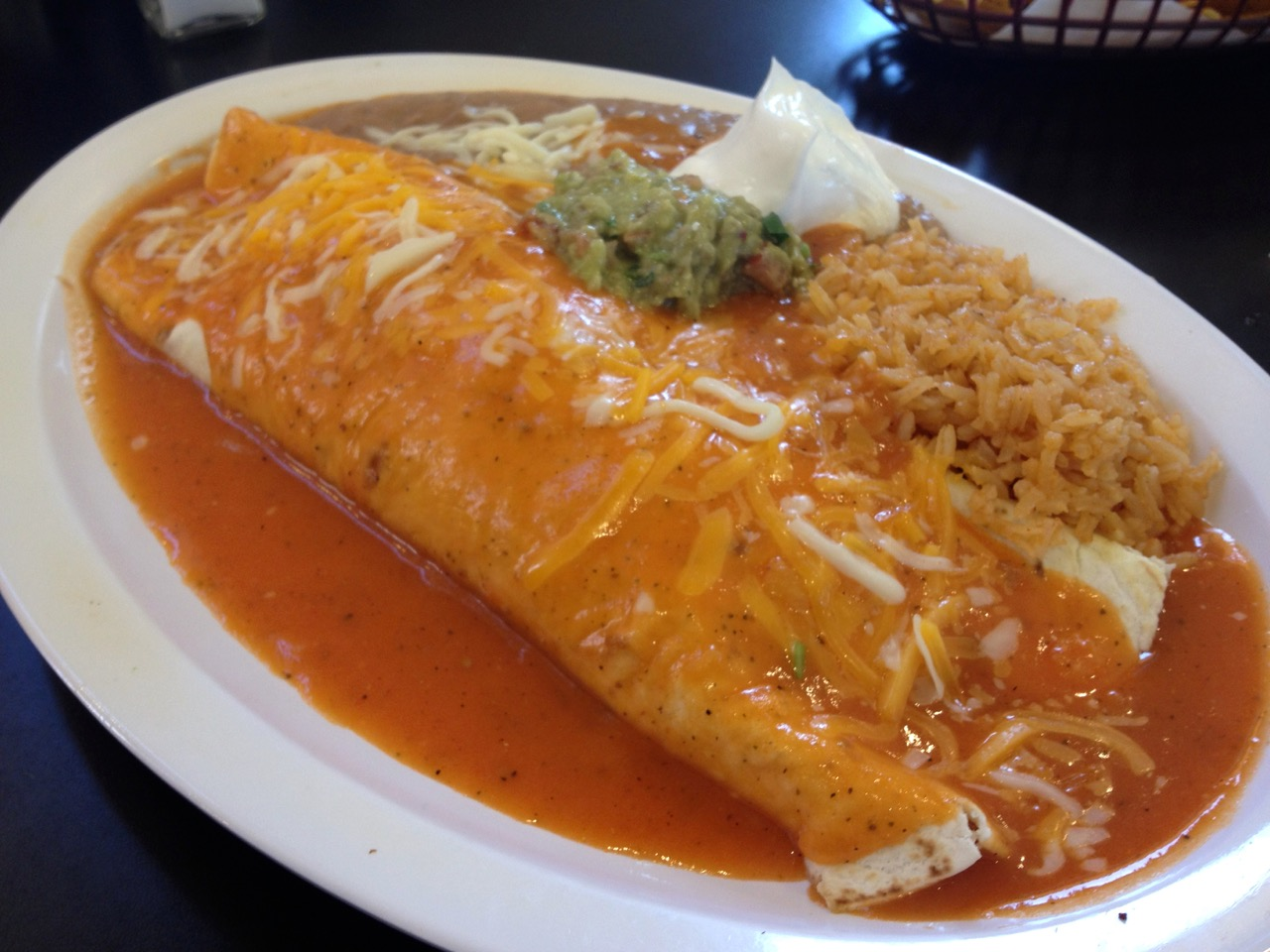 The Wet Burrito at El Sazon in Kennewick - September 10 2013