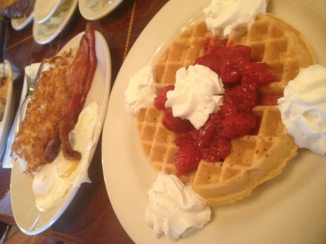 Franks Diner Breakfast In Spokane – April 23 2013