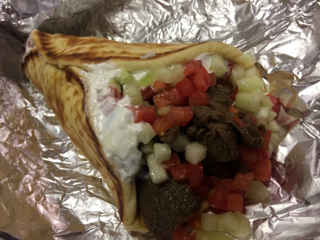 The Beef Gyro at Fresh Out of the Box – September 26 2017