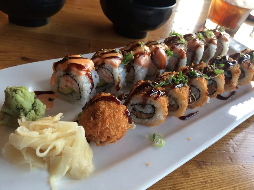 Sushi in San Francisco – December 31 2016