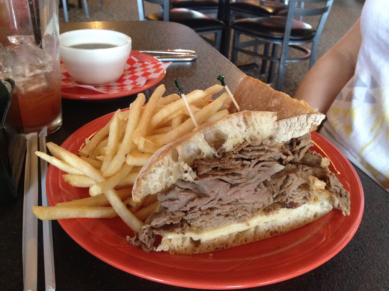 The French Dip - Kennewick City Grill: January 29 2012
