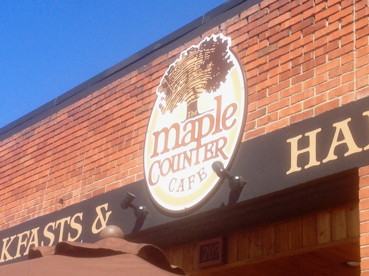 Breakfast at Maple Counter Cafe – July 1 2013