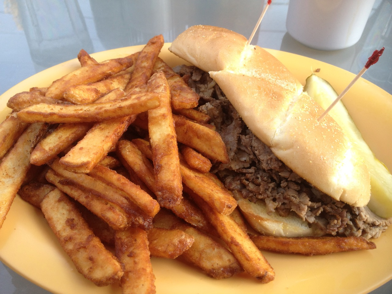 French Dip at Sageport Grill – April 5 2014