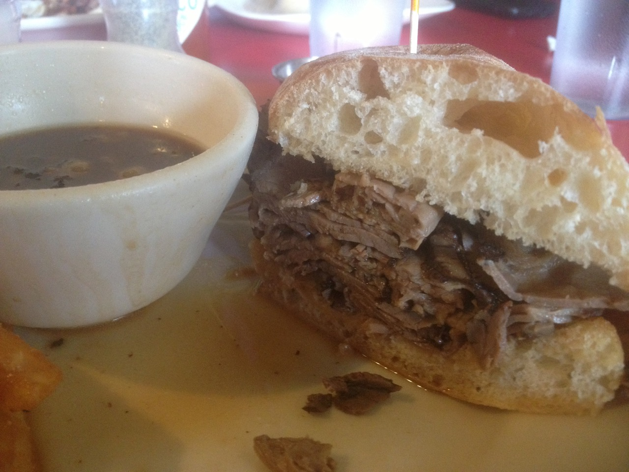 The Sports Page French Dip - July 10 2013