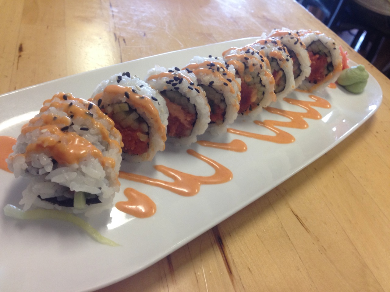 Spicy Tuna Rolls at Sushi Mori - January 15 2016
