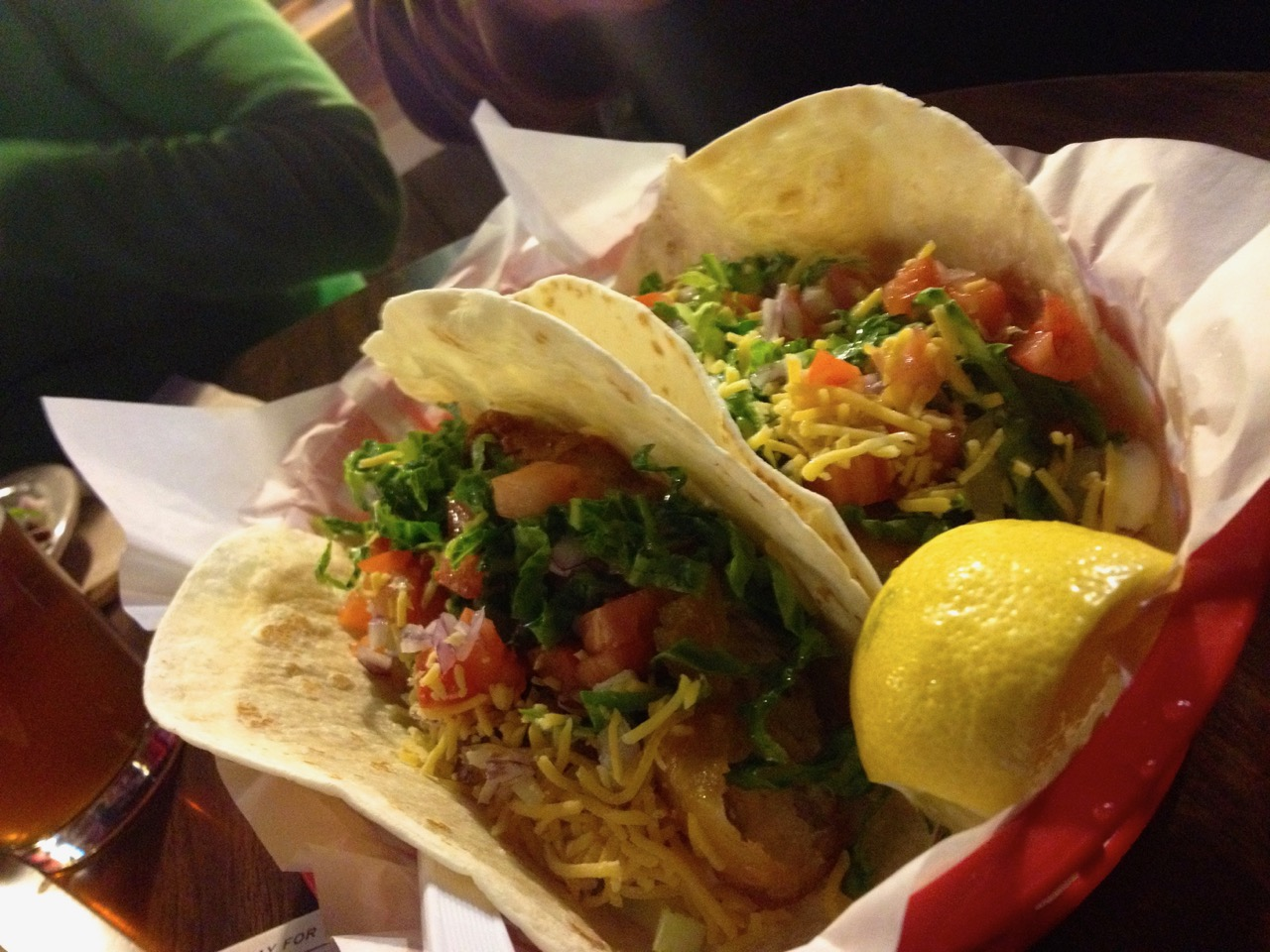 Tacos at the Pub – November 22 2014