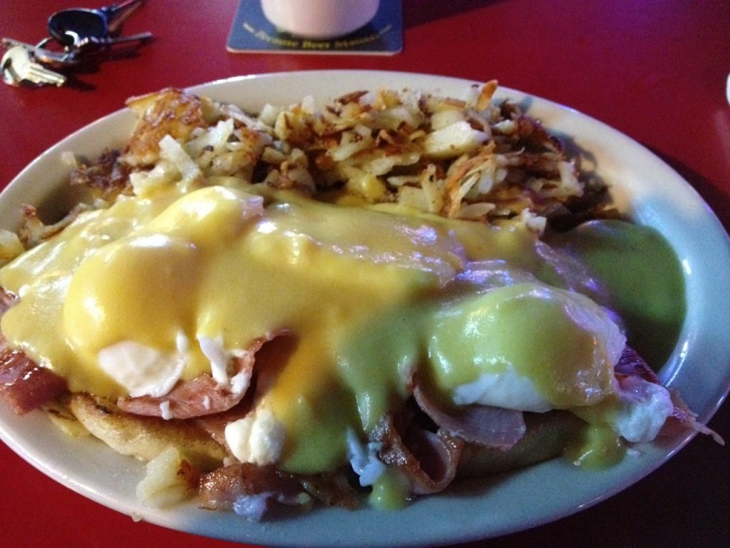 Uncle Sam's Eggs Benedict – October 23 2012