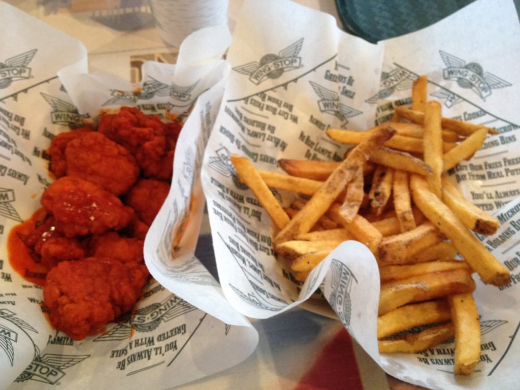 Wings at Wingstop – July 10 2009