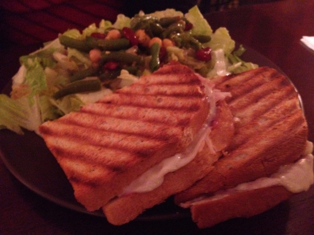 Paninis at Zinful – December 18 2013