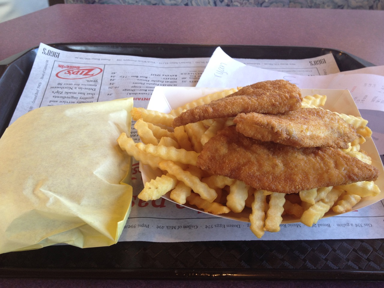 Fish and Chips at Zips in Richland – February 11 2019