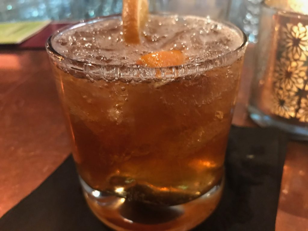 An Old Fashioned at Tagaris? Yes, They Make Them – November 18 2017