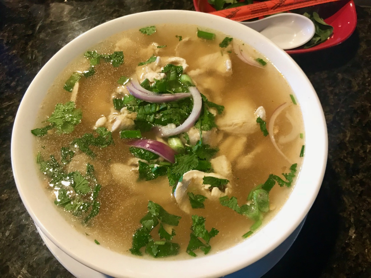 Chicken Pho at Bangkok Thai in Kennewick - January 3 2020