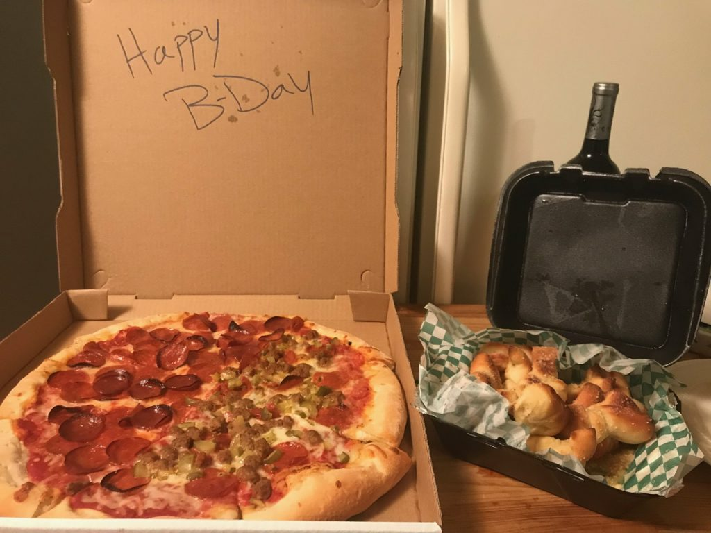 The Best Birthday Dinner Ever – December 27th 2017