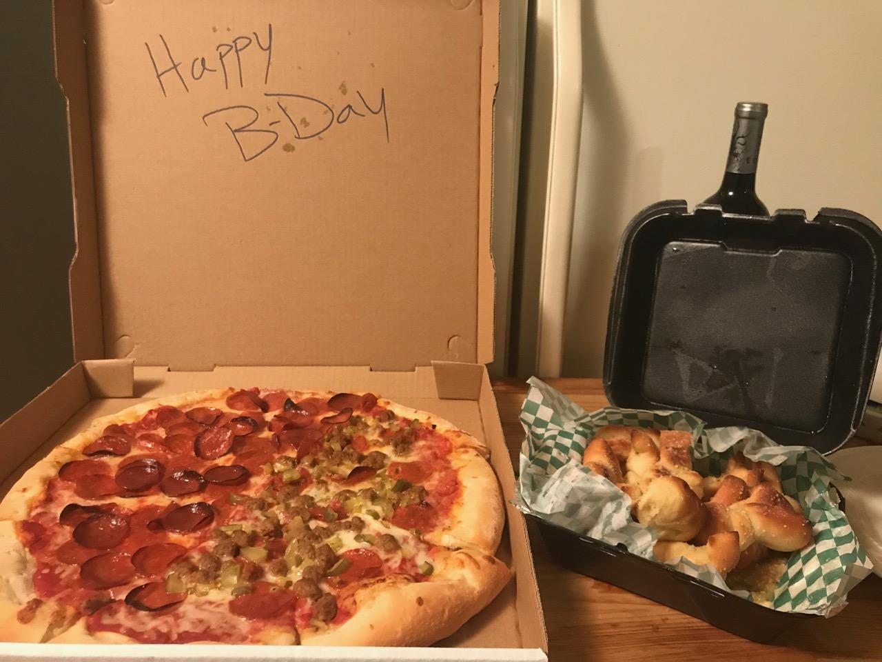 The Best Birthday Dinner Ever – December 27th 2017