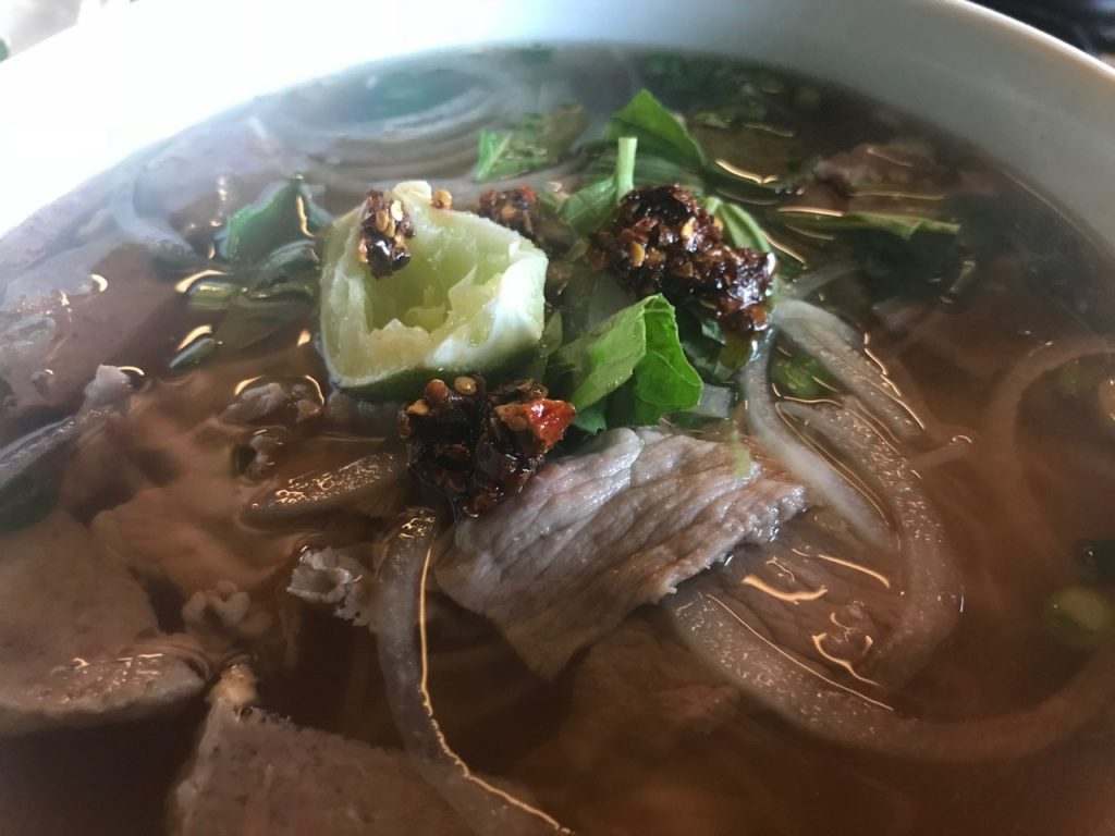 Beef Pho at Yummie Pho – January 15 2018