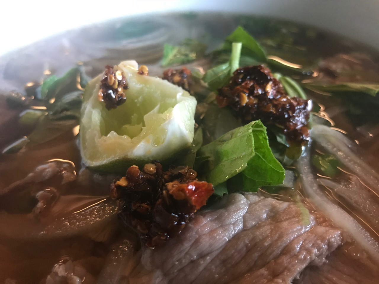 Beef Pho at Bangkok Thai – December 29th 2017