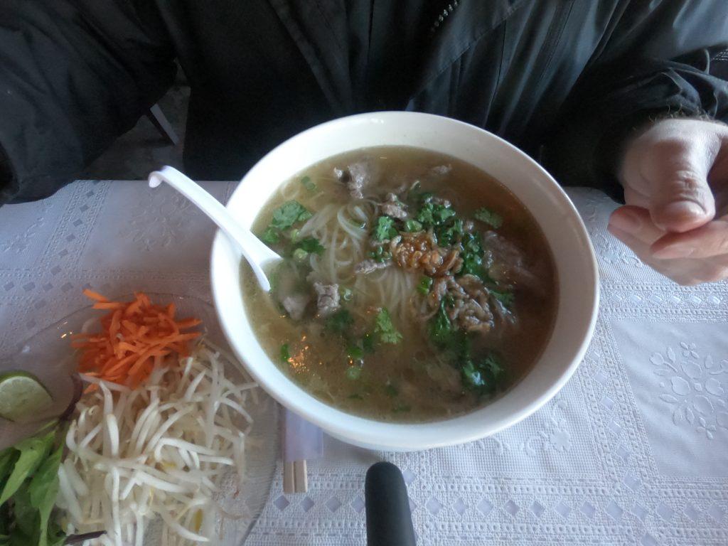 Beef Pho at Thai Elephant – February 17 2018