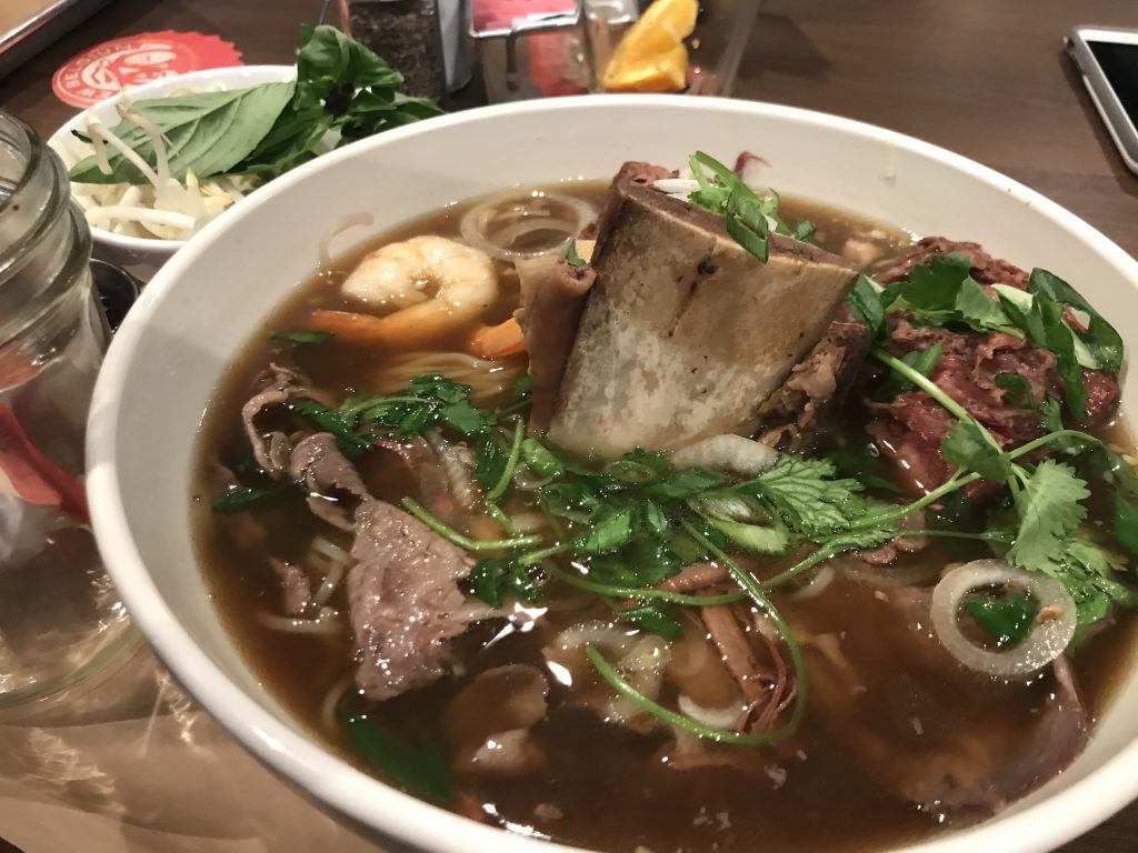 Beef Pho at Edge Steakhouse & Lounge – March 3 2018