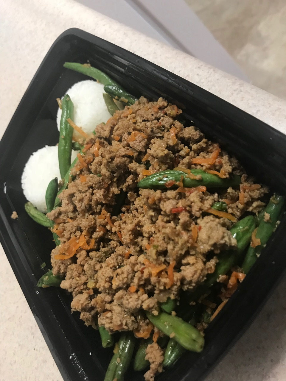 Chinese Green Beans w/ Ground Turkey – May 2 2018