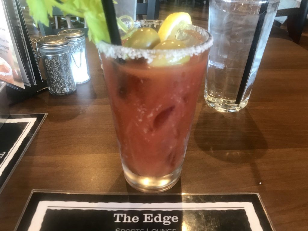 The Blood Mary – The Edge Steakhouse – July 27 2018