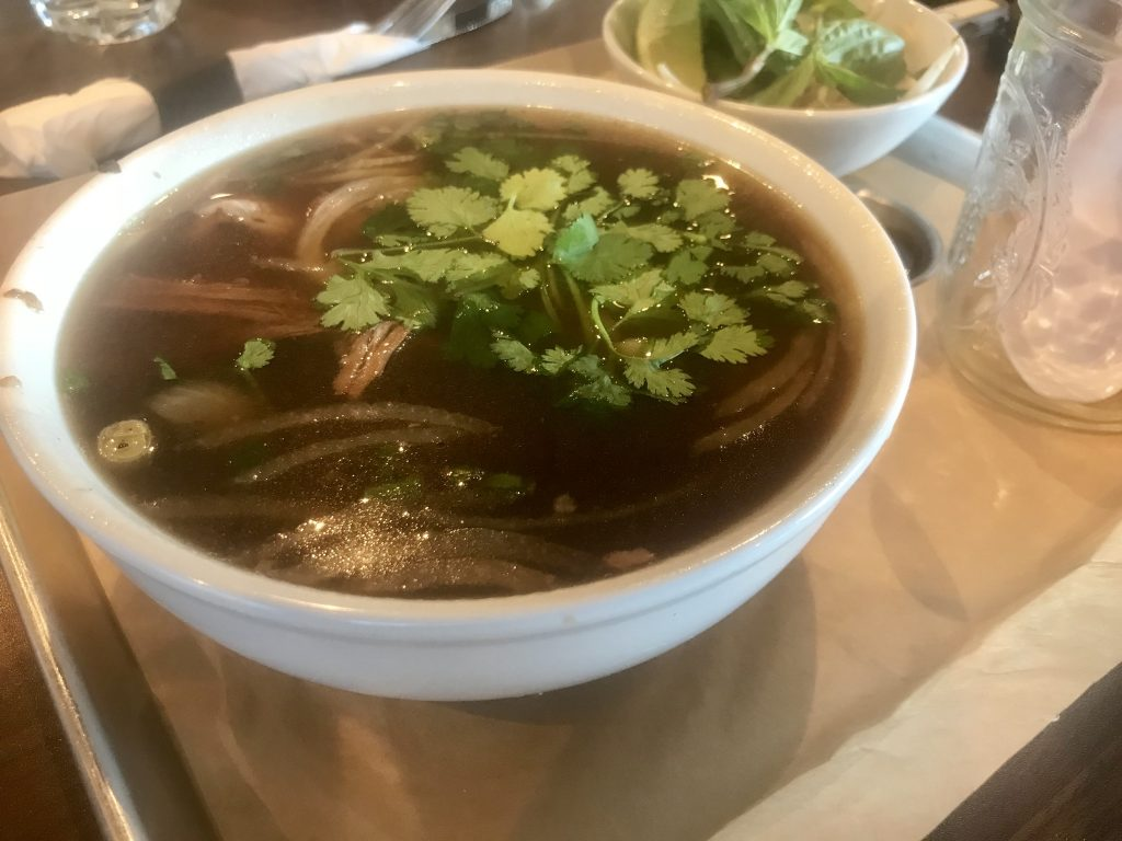 Beef Pho at The Edge Steakhouse – August 24 2018