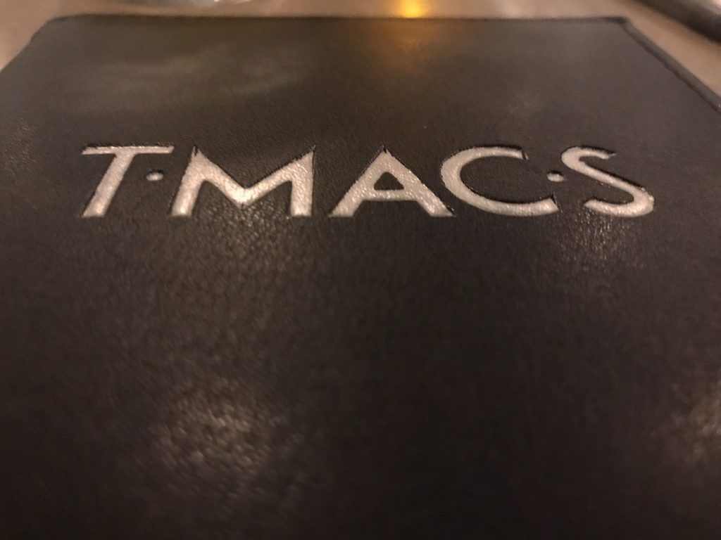 An Awesome Dinner at TMACS in Walla Walla – June 23 2018