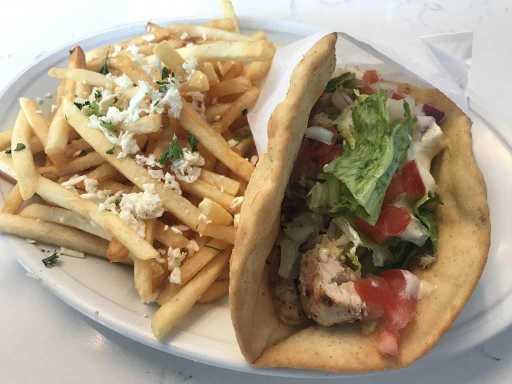 Chicken Gyro at Greek Islands – September 5 2018