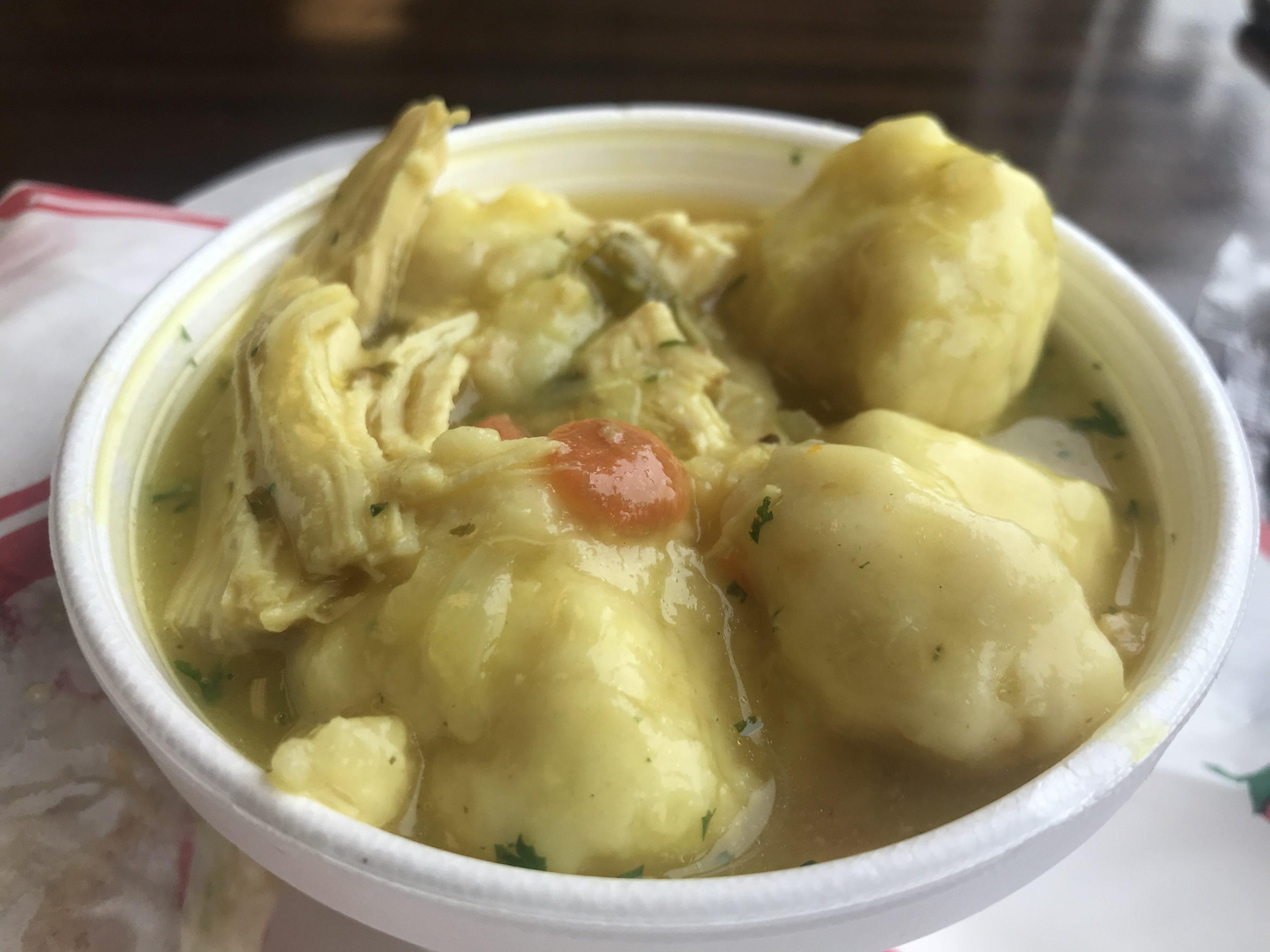 Chicken Dumpling Soup at Island View Deli & Market – October 7 2018