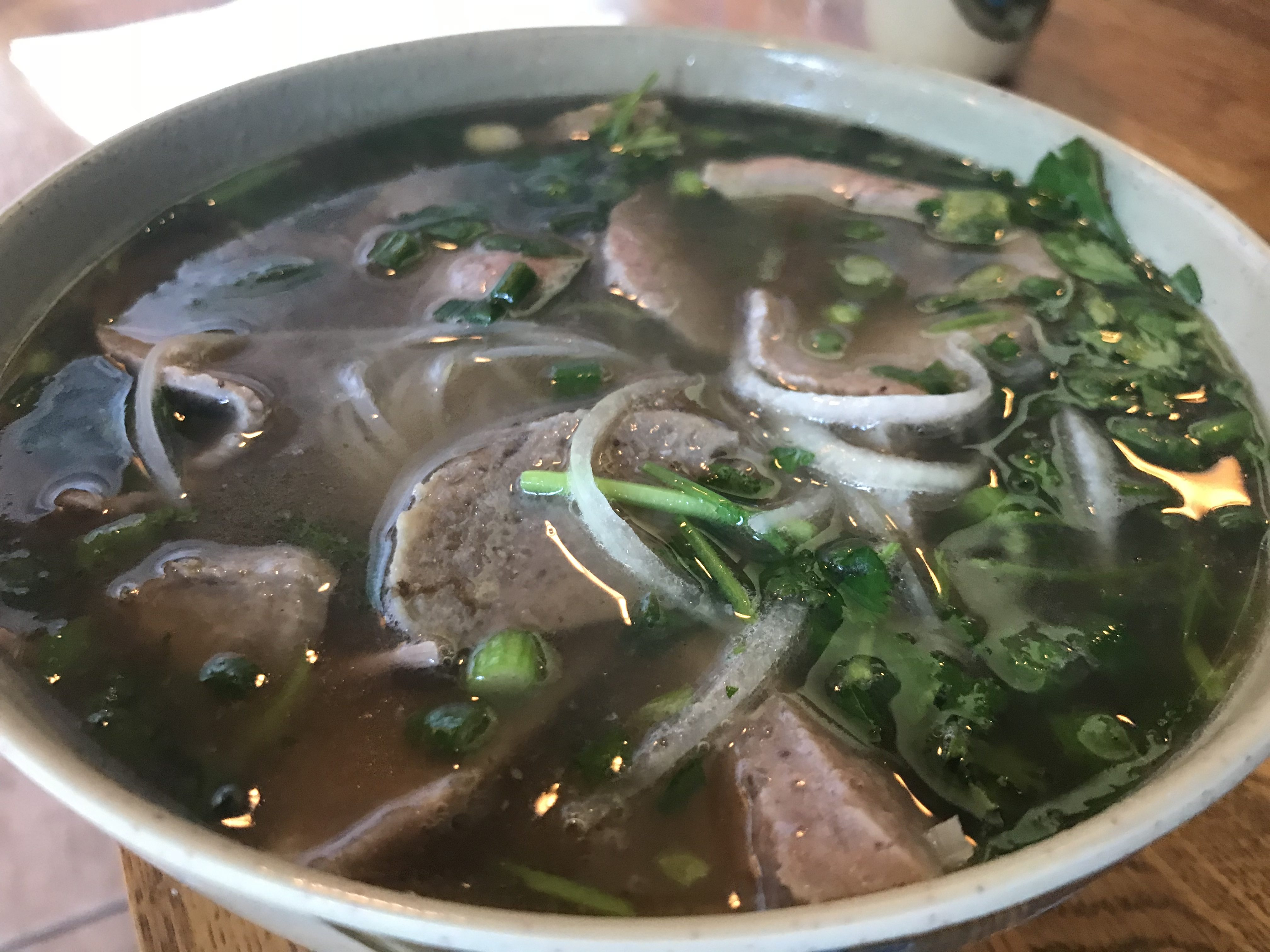 Beef Pho at Black Pearl Asian Fusion in Bellingham - October 17 2018