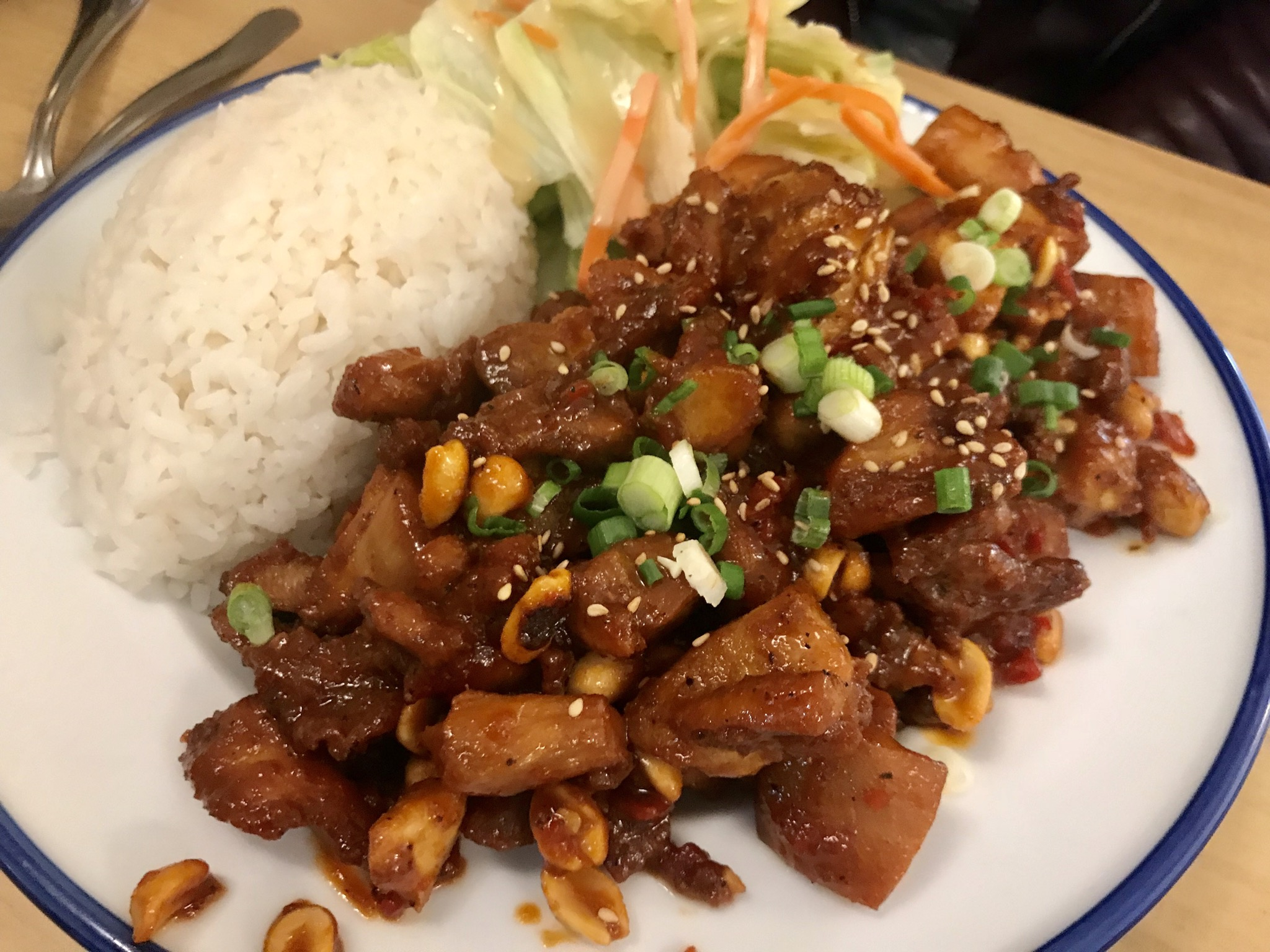 General Tzo's at Woo's Teriyaki in Richland – November 7 2018