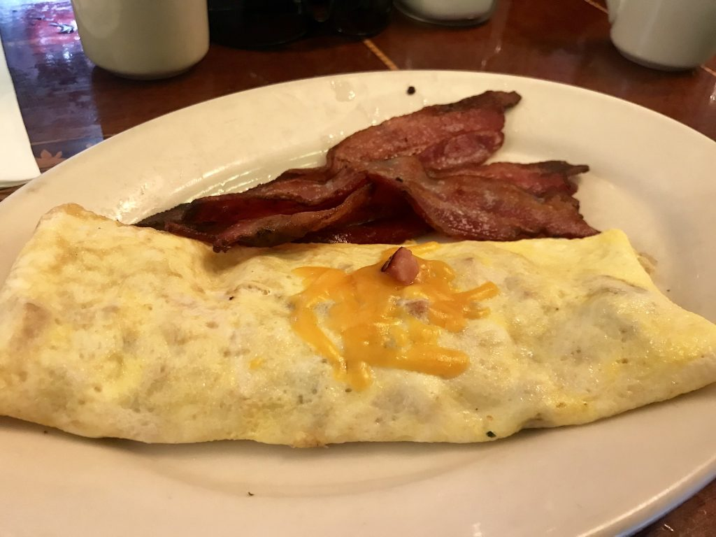 Omelettes at Frank's Diner in Spokane – November 23 2018