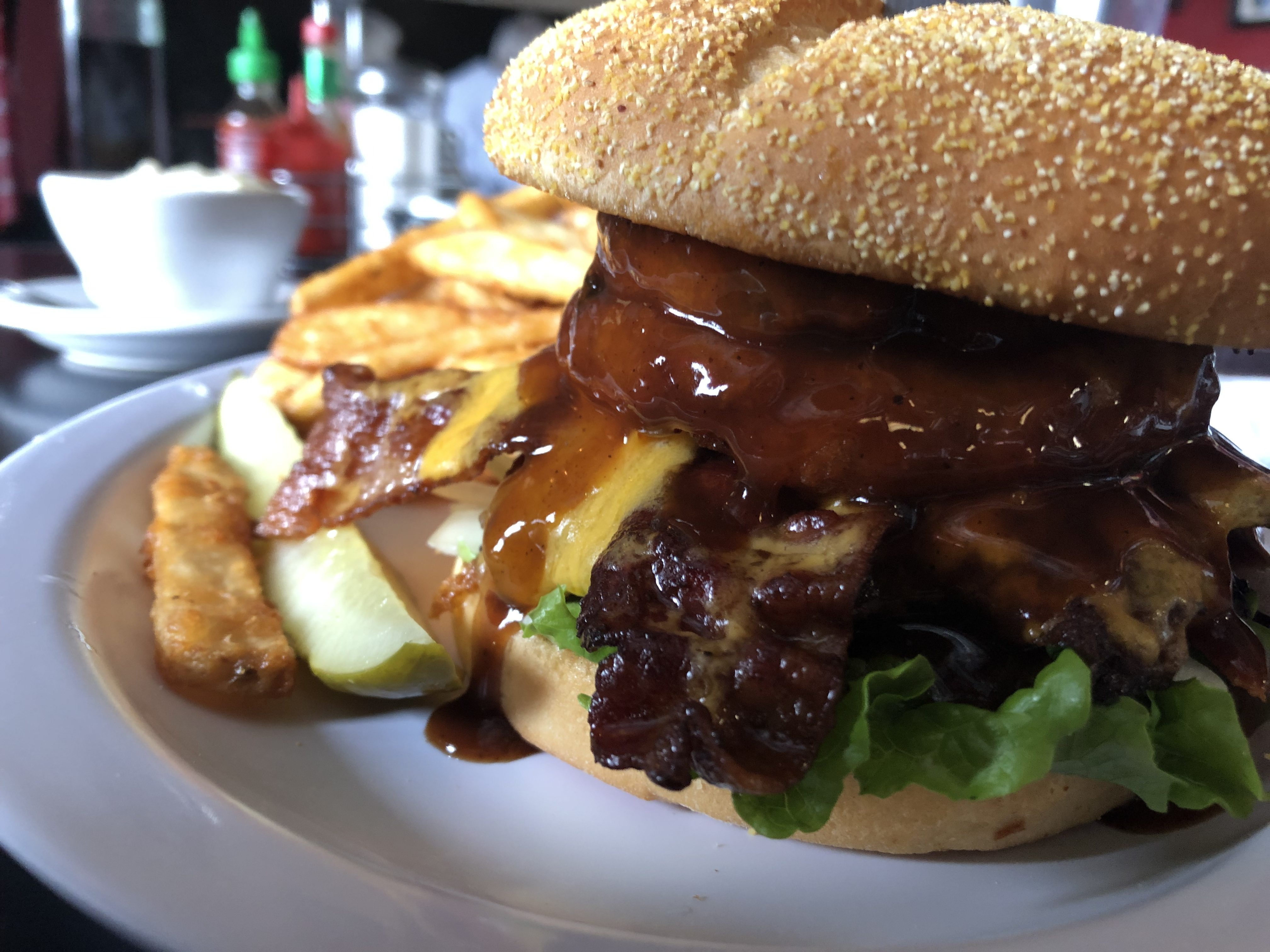 Western Burger at Sageport Grille in Richland – February 19 2019