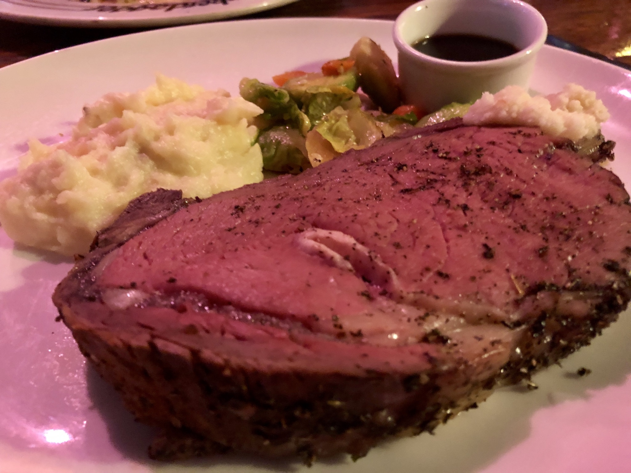 Salmon & Prime Rib at Clinkerdaggers in Spokane – April 6 2019