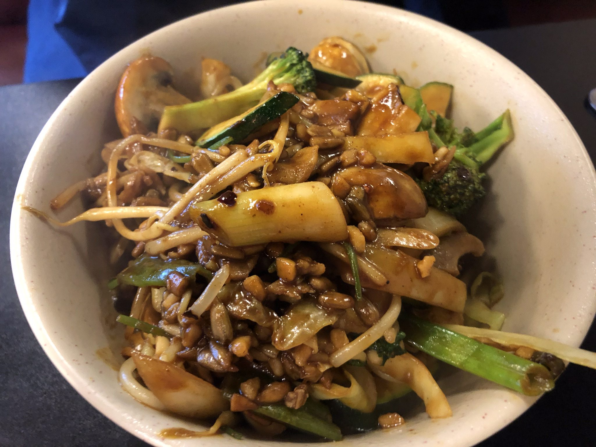 Beef and Veggies at Hongs Mongolian – March 26 2019