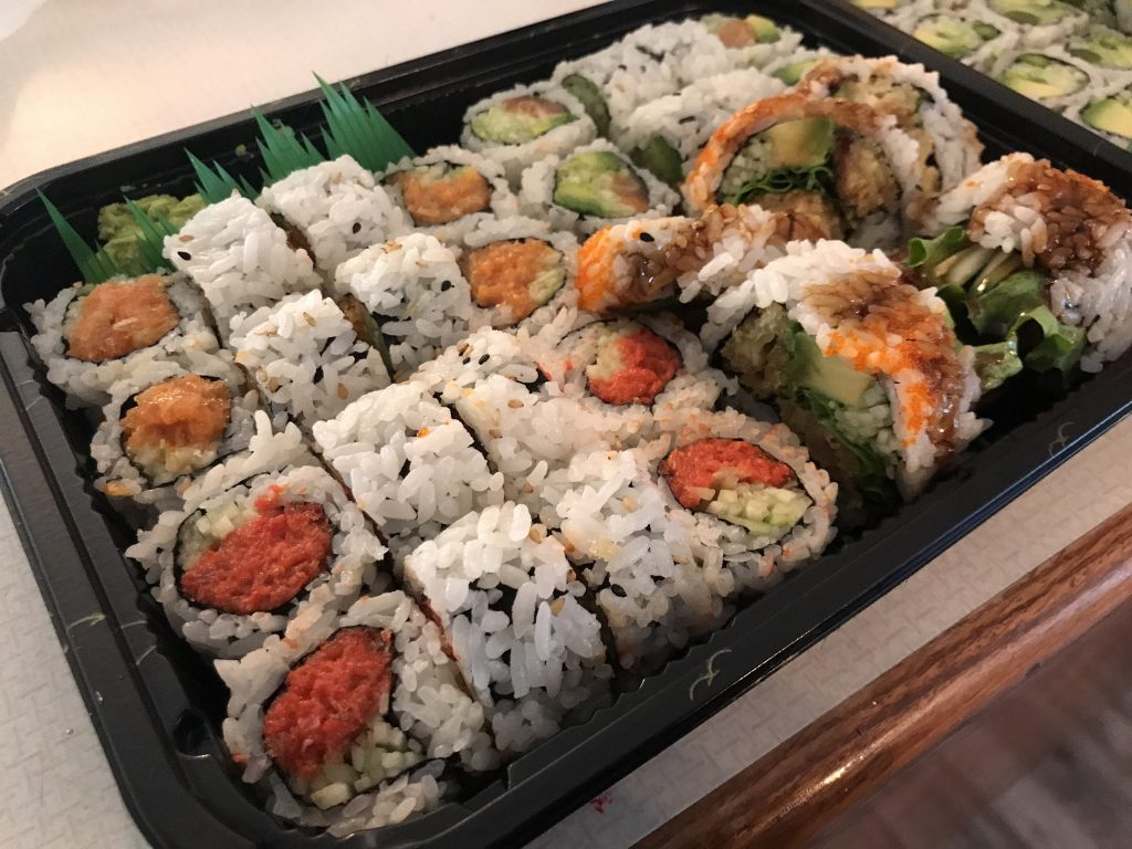Sushi To Go from Shiki Sushi in Kennewick – August 29 2020