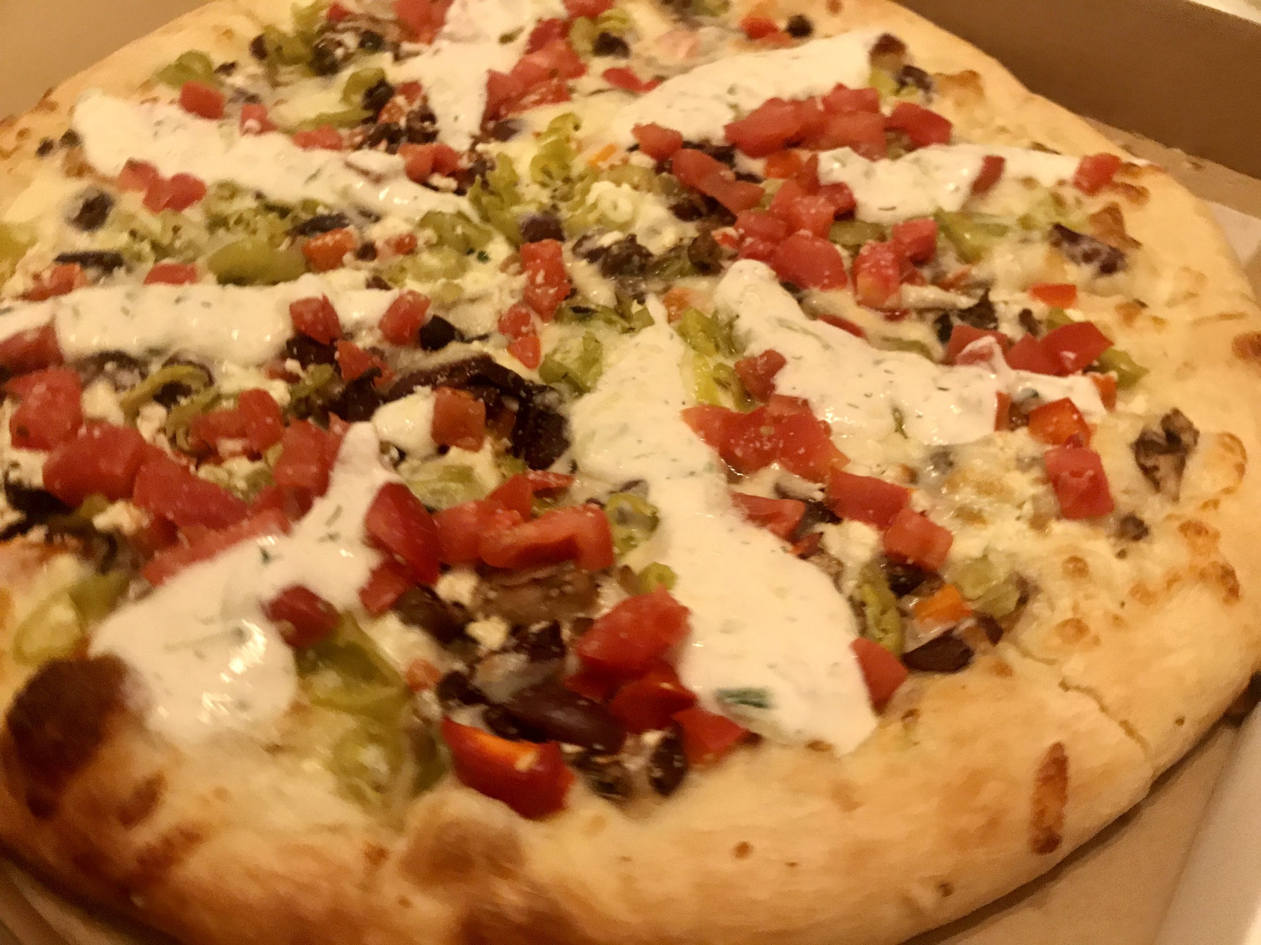 Pizza From Greek Islands in Richland – October 28 2020