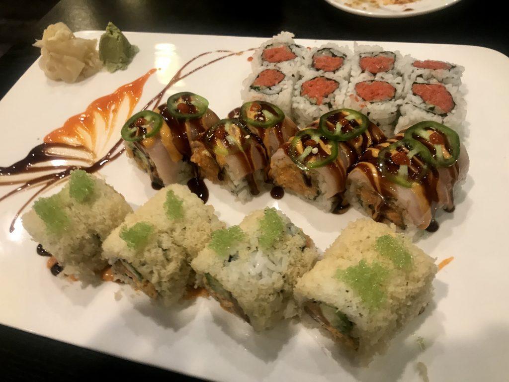 Sushi Dinner at Shiki Sushi in Kennewick – October 29 2020