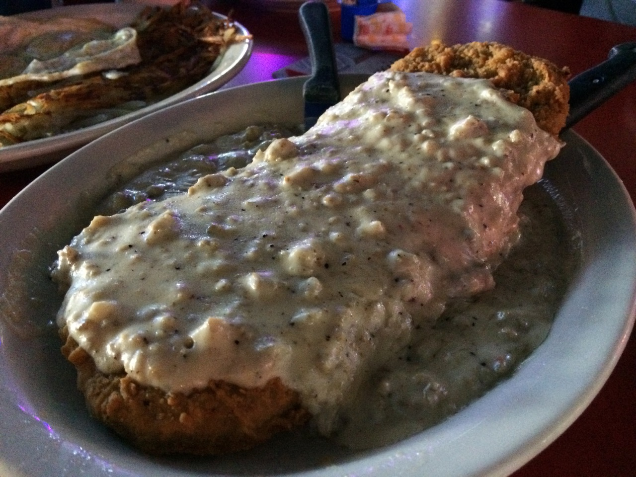 Country Fried Steak at Uncle Sam's – October 23 2012