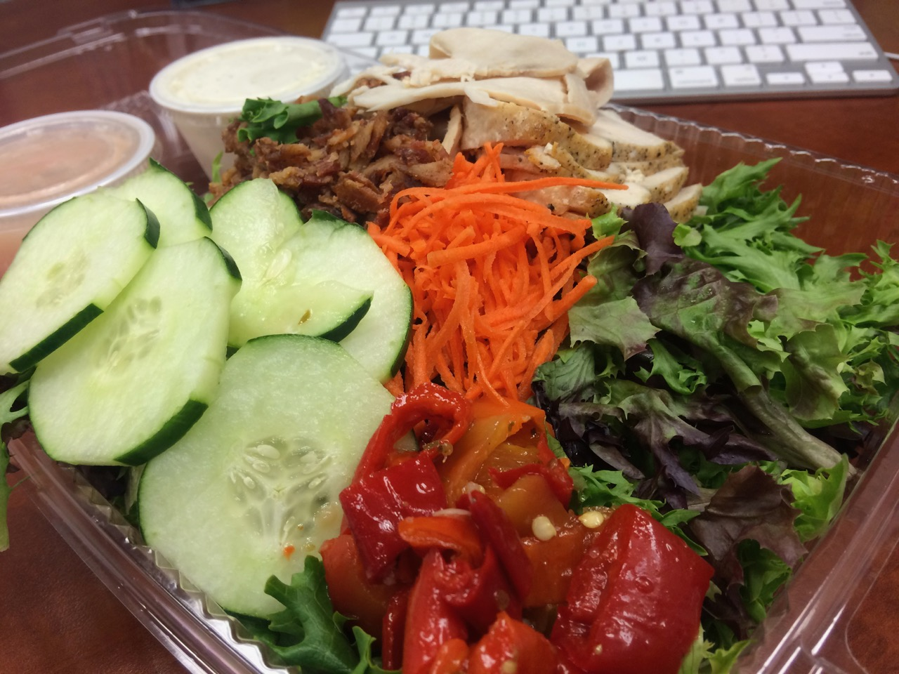 A Super Modified Cobb Salad at Graze – September 11 2017
