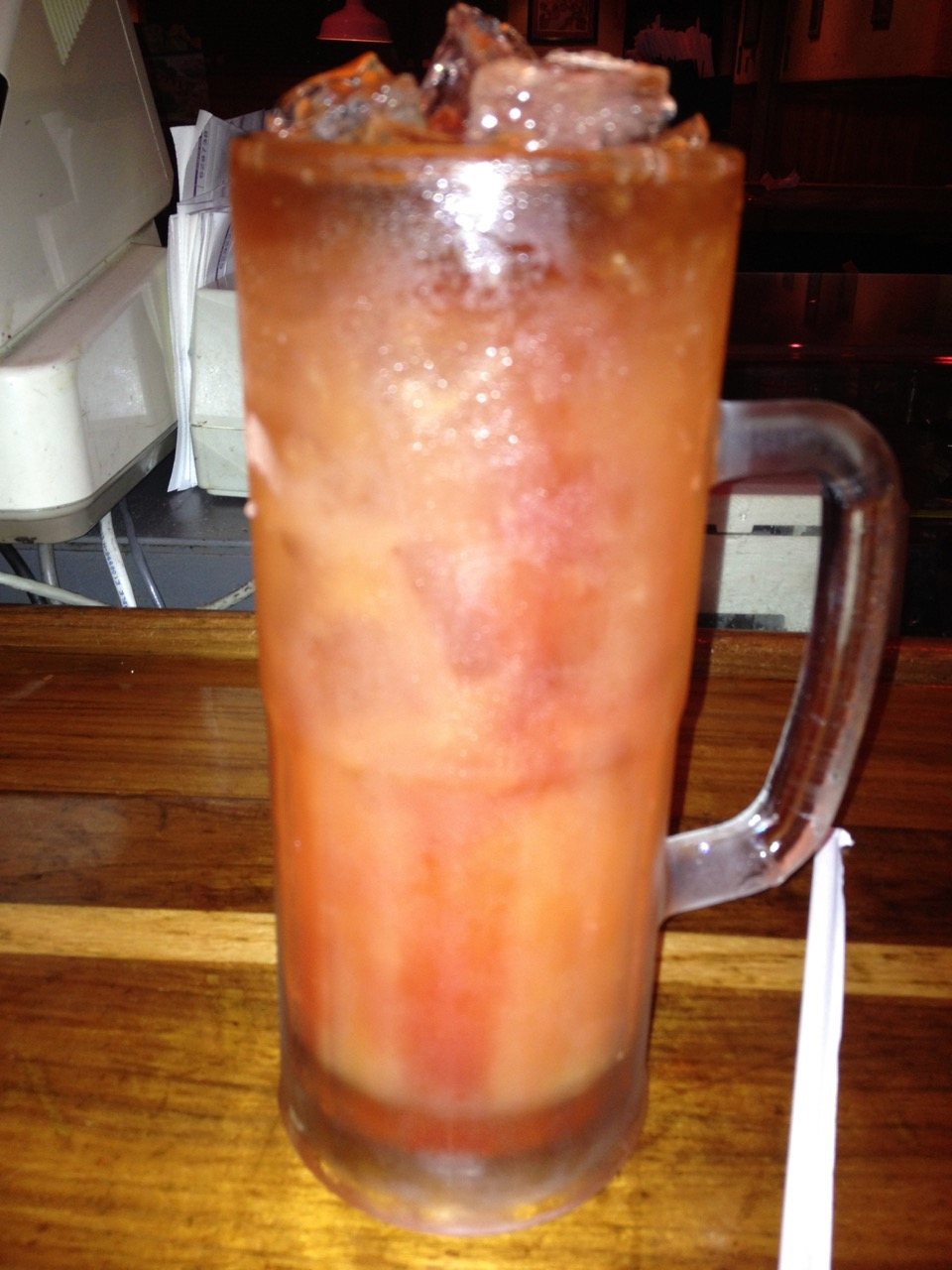 The 57 Chevy at Outback – July 21 2012