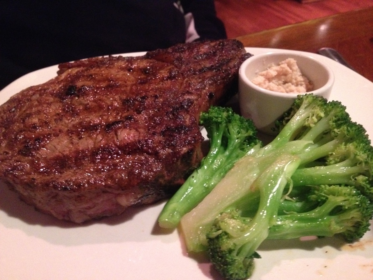 Ribeyes at the Outback In Kennewick – February 12 2010