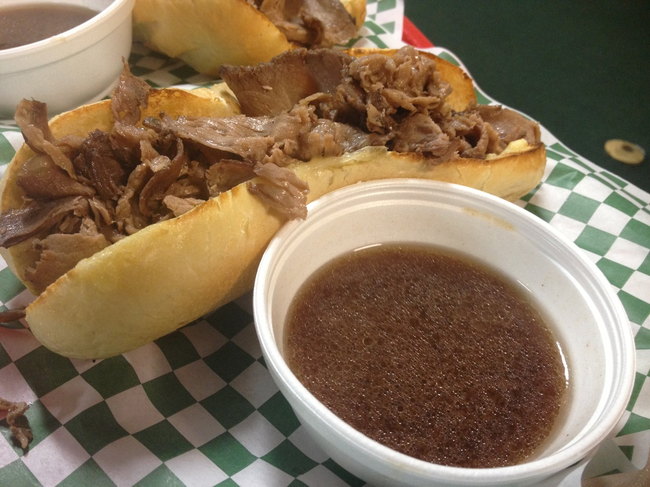 The French Dip at Country Mercantile - November 24 2012