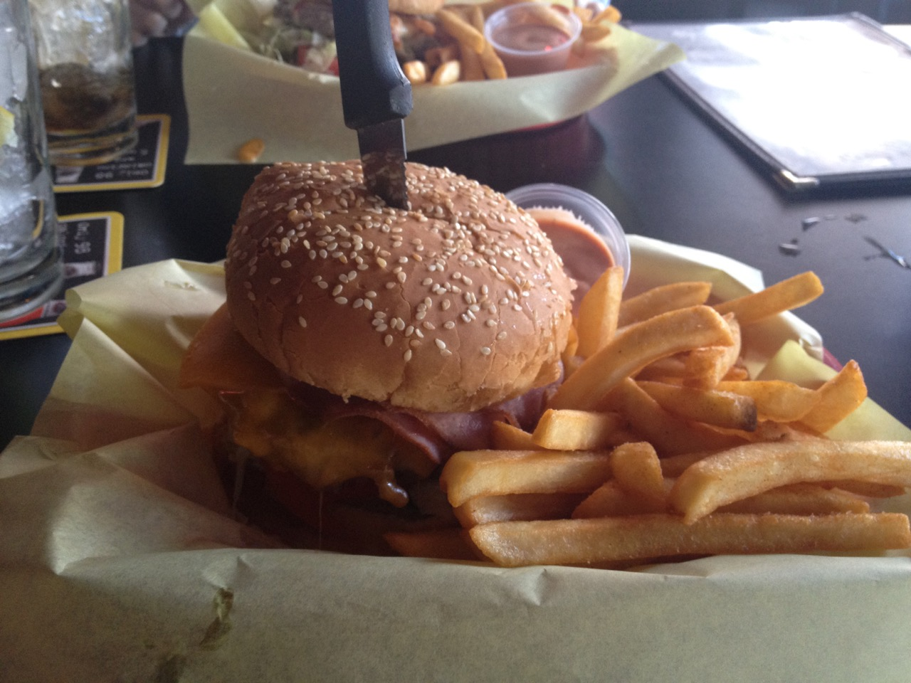 The Works Burger at Dax's – January 12 2012
