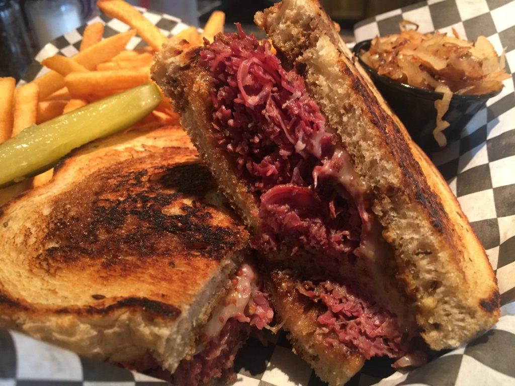 Pastrami Sandwich at Foodies Brick & Mortar – June 13 2017